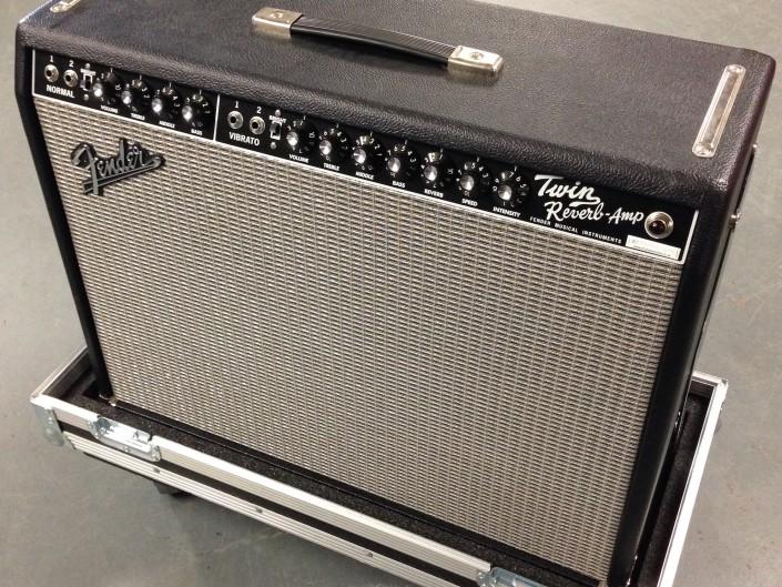 Fender Twin c/w fsw