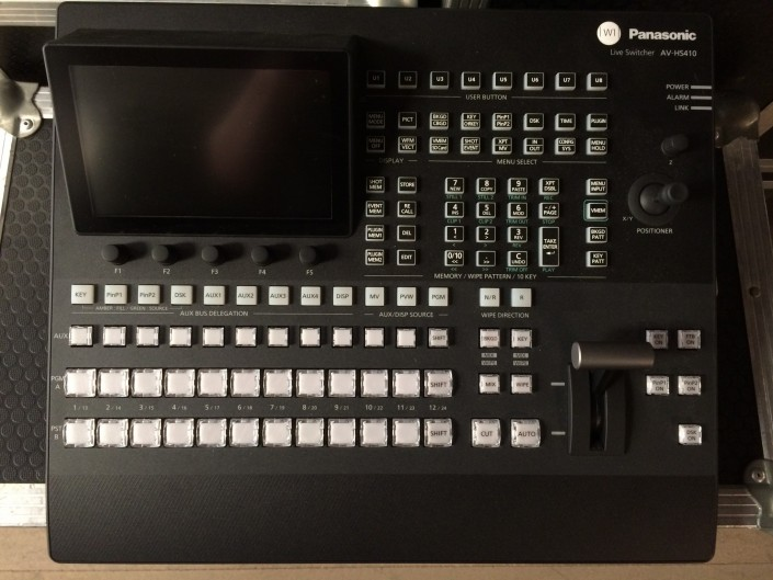 Panasonic AVS410 live vision switcher