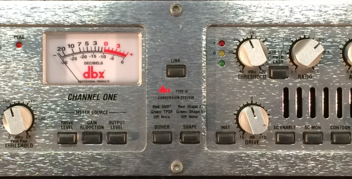 DBX 566 Dual Tube Compressor