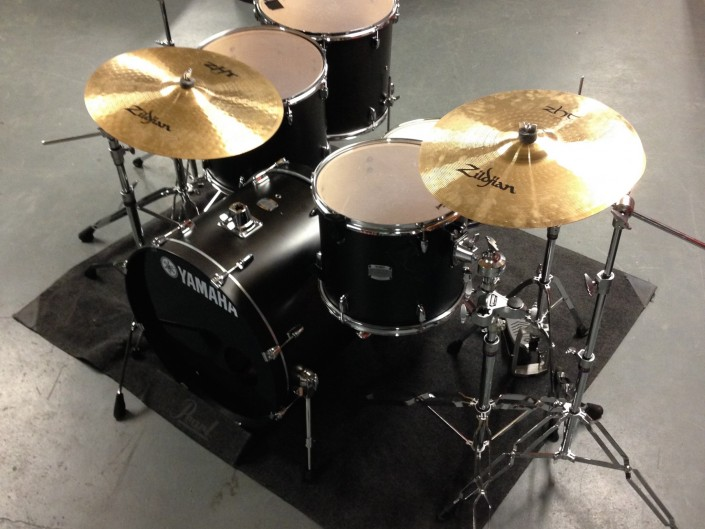 Yamaha Stage Custom 5 piece drumkit